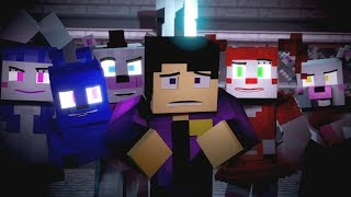 Nightmare by Design FNAF Minecraft Music Video 3A Display Song by TryHardNinja