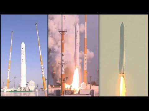 South Korea Launches KSLV-II Rocket on First Test Flight