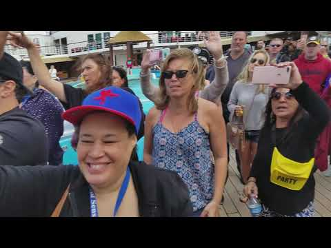 Ship hop 2018 cruise C+C MUSIC FACTORY FEAT.FREEDOM WILLIAM EVERYBODY DANCE NOW