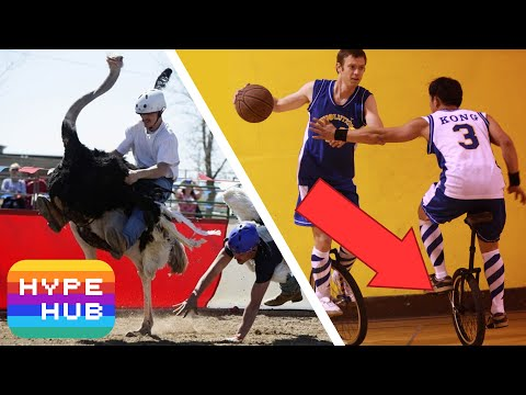 Top 10 Weirdest Sports That Actually Exist