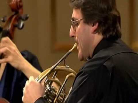Mozart - Quintet for Horn, violin, 2 viola and cello KV 407 - Radovan Vlatkovic 1/3