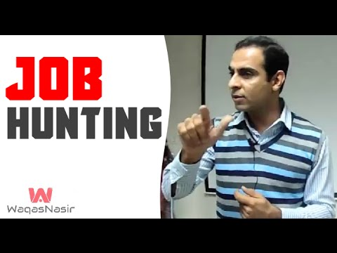 Job Hunting | How to Find the  Job | Qasim Ali Shah  | Urdu/Hindi | WaqasNasir