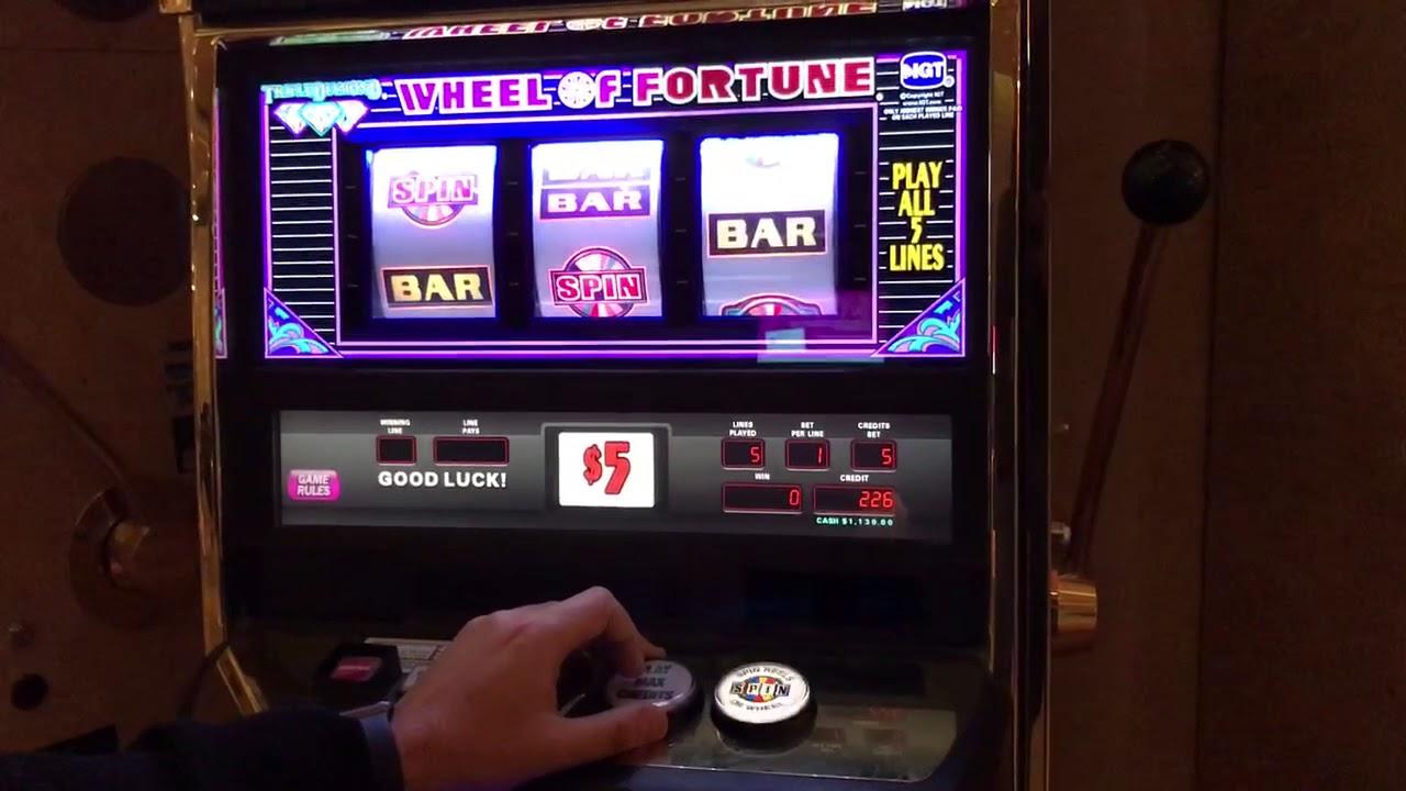 $25 wheel of fortune slot machine