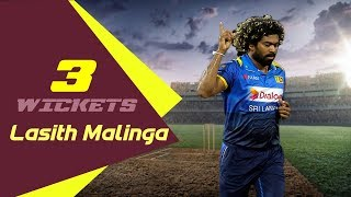 Lasith Malinga's 3 Wickets Against Bangladesh|1st ODI | ODI Series|Bangladesh tour of Sri Lanka 2019