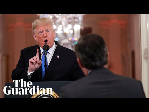 'You are a rude, terrible person' : Trump attacks CNN reporter