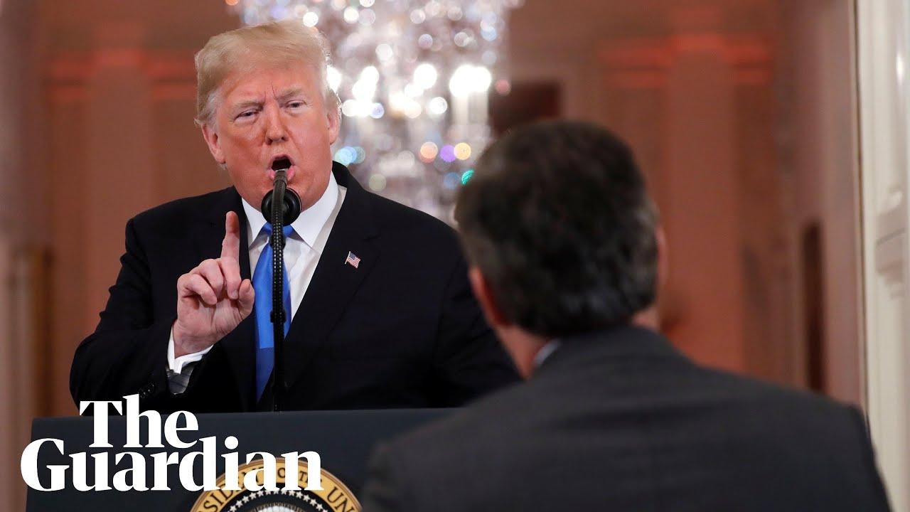 'You are a rude, terrible person' : Trump attacks CNN reporter