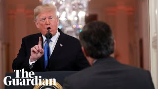 Download 'You are a rude, terrible person' : Trump attacks CNN reporter Mp3 and Videos