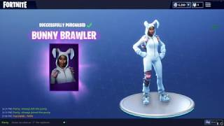 NEW SKINS À Fortnite BUNNY BRAWLER (fr) RABBIT RAIDER - FRANCE BÂTON DE CAROTTE