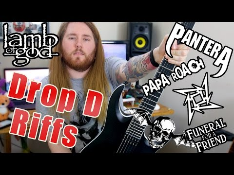 6 Epic Drop D Metal Riffs Every Guitar Player Has To Know!!