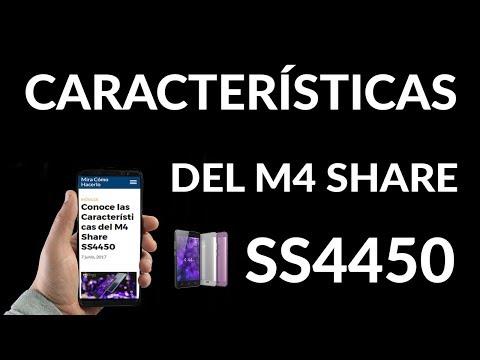 Características del M4 Share SS4450