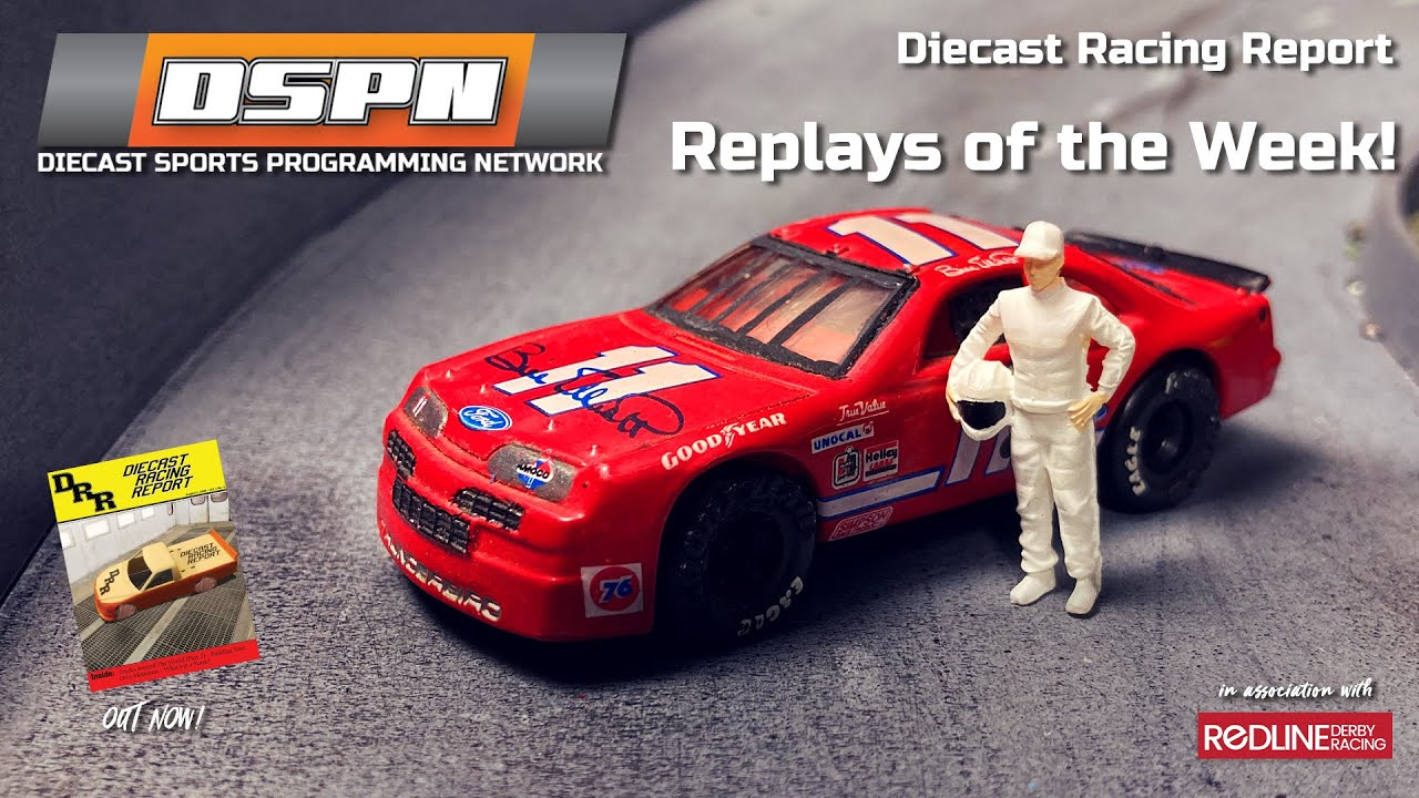 DSPN Diecast Sports Programming Network  Weekly Wrap Up 14 August 2020