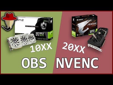 Стоит ли переплачивать? Стримы Geforce 10xx VS 20xx, старый и новый Nvenc