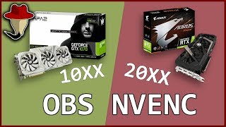 Is it REALLY worth paying more? Streaming with Geforce 10xx VS 20xx, old and new Nvenc