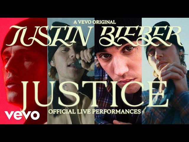 Justin Bieber - Justice (Official Live Performances)   Vevo