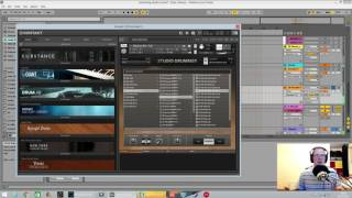 Drum and Bass Tutorial - Extracting Grooves and Breaks from NI Studio Drummer