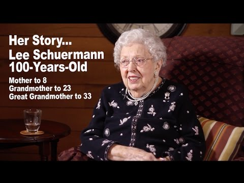 The Story of My 100 Year Old Grandmother…