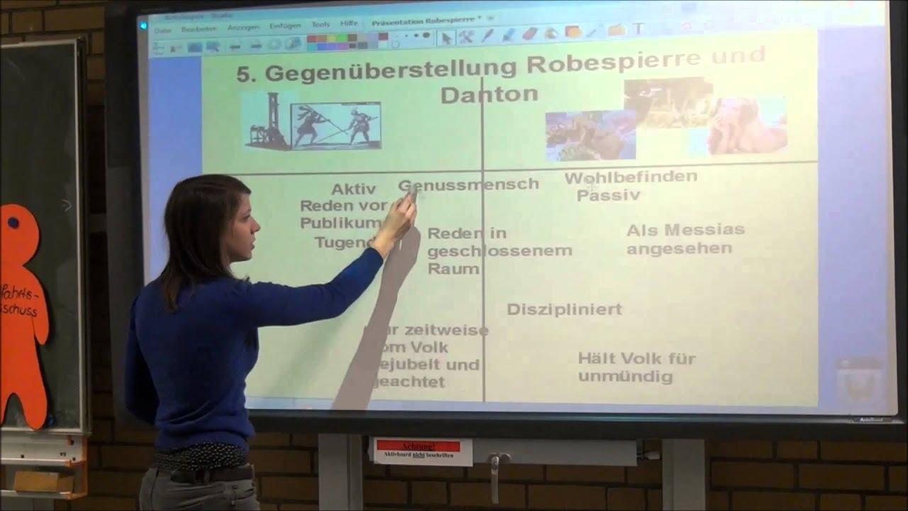 Dantons Tod Charakterisierung Robespierre