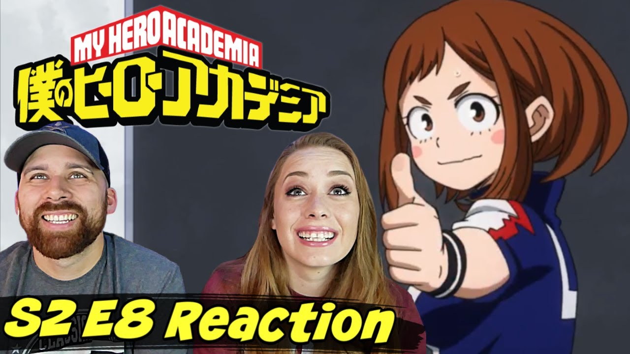 """My Hero Academia [English Dub] S2 E8 """"Battle on, Challengers!"""" REACTION & REVIEW! 2x8"""