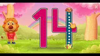 Learn Numbers For Kids- Animated caracters and cartoon teaching numbers from 11 to 50