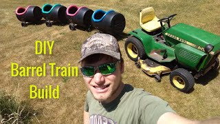 How to Make a Barrel Train - DIY