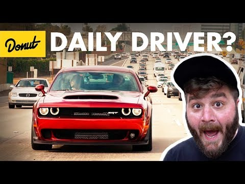 Dodge Demon - Commuting in an 840hp Muscle Car   The New Car Show