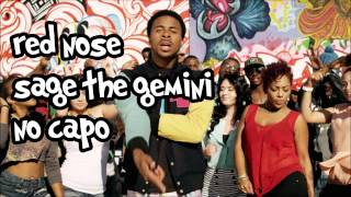 red nose sage the gemini lyrics and chords