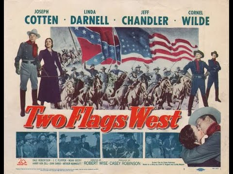 Download TWO FLAGS WEST (1950) Theatrical Trailer - Joseph Cotten, Linda Darnell, Jeff Chandler