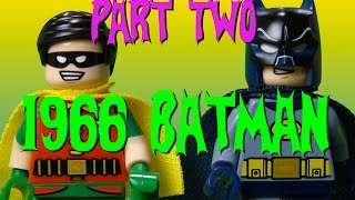 LEGO 1960s Batman - Part 2 Full Episode - CheepJokes Stop Motion The Lego Batman Movie