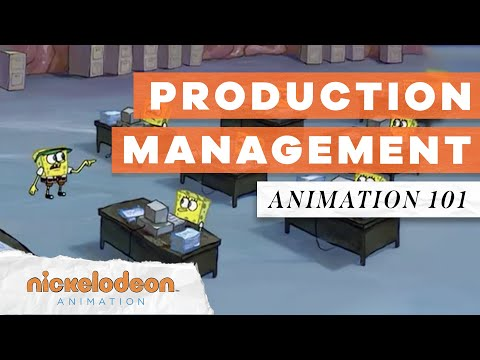 Getting Organized with Production Management | Animation 101 | Nickelodeon Animation
