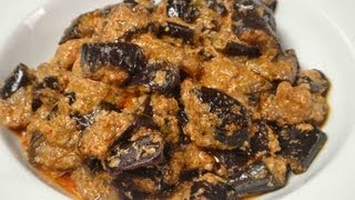 Dahi Baingan (Fried Brinjal and Yogurt dish)