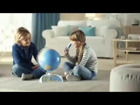 Clementoni Globe interactief commercial
