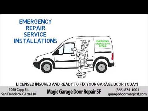 Garage Door Spring Redwood City CA 650-835-4889 Cable