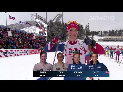 IBU World Championships Mixed Relay Holmenkollen / 03.03.2016