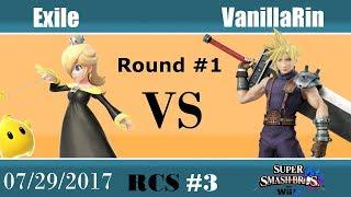 Baixar RCS #3 Smash Wii U - Exile (Rosalina) vs VanillaRin (Cloud)
