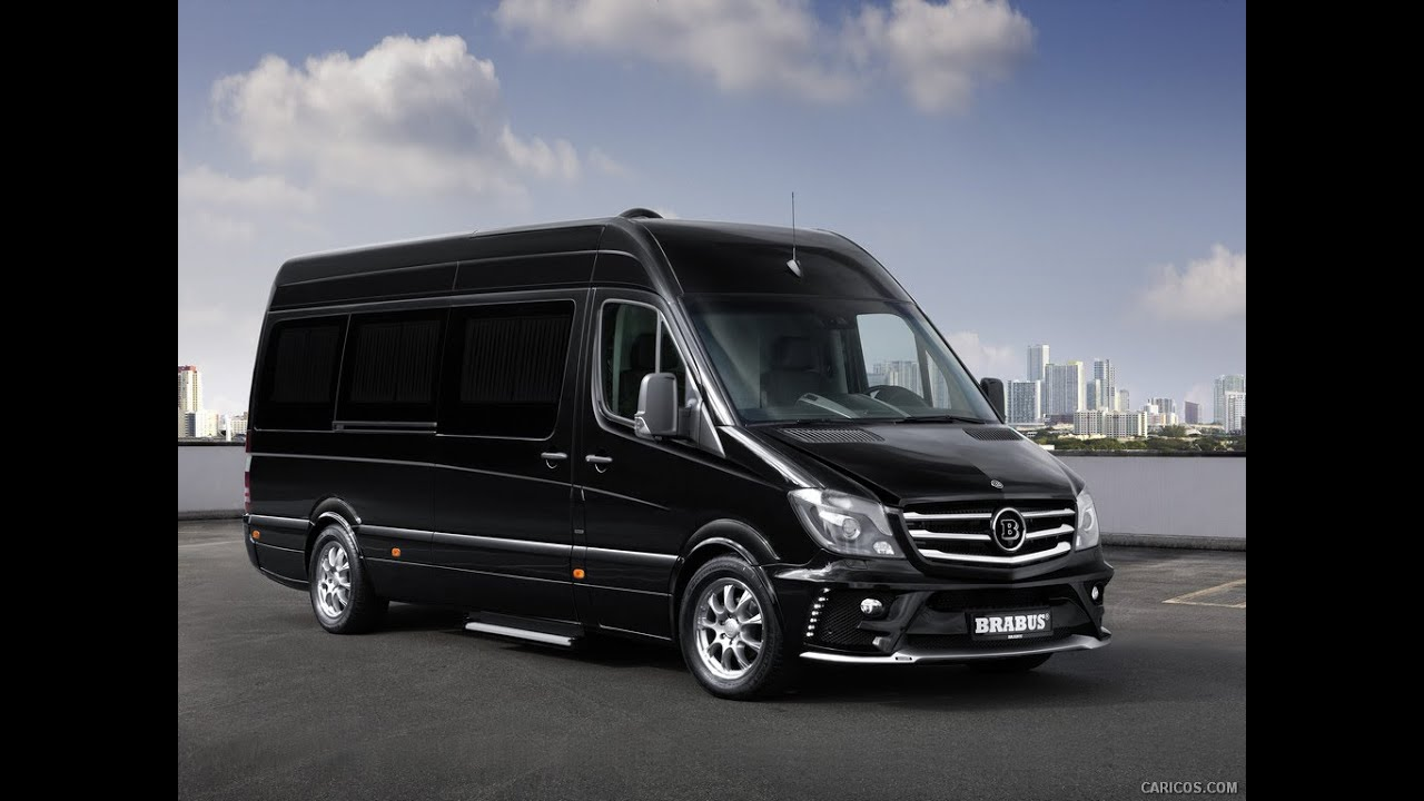 2015 brabus business lounge based on mercedes-benz sprinter - youtube