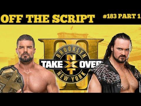 Download NXT TakeOver Brooklyn III Drew McIntyre VS Bobby Roode Highligts HD
