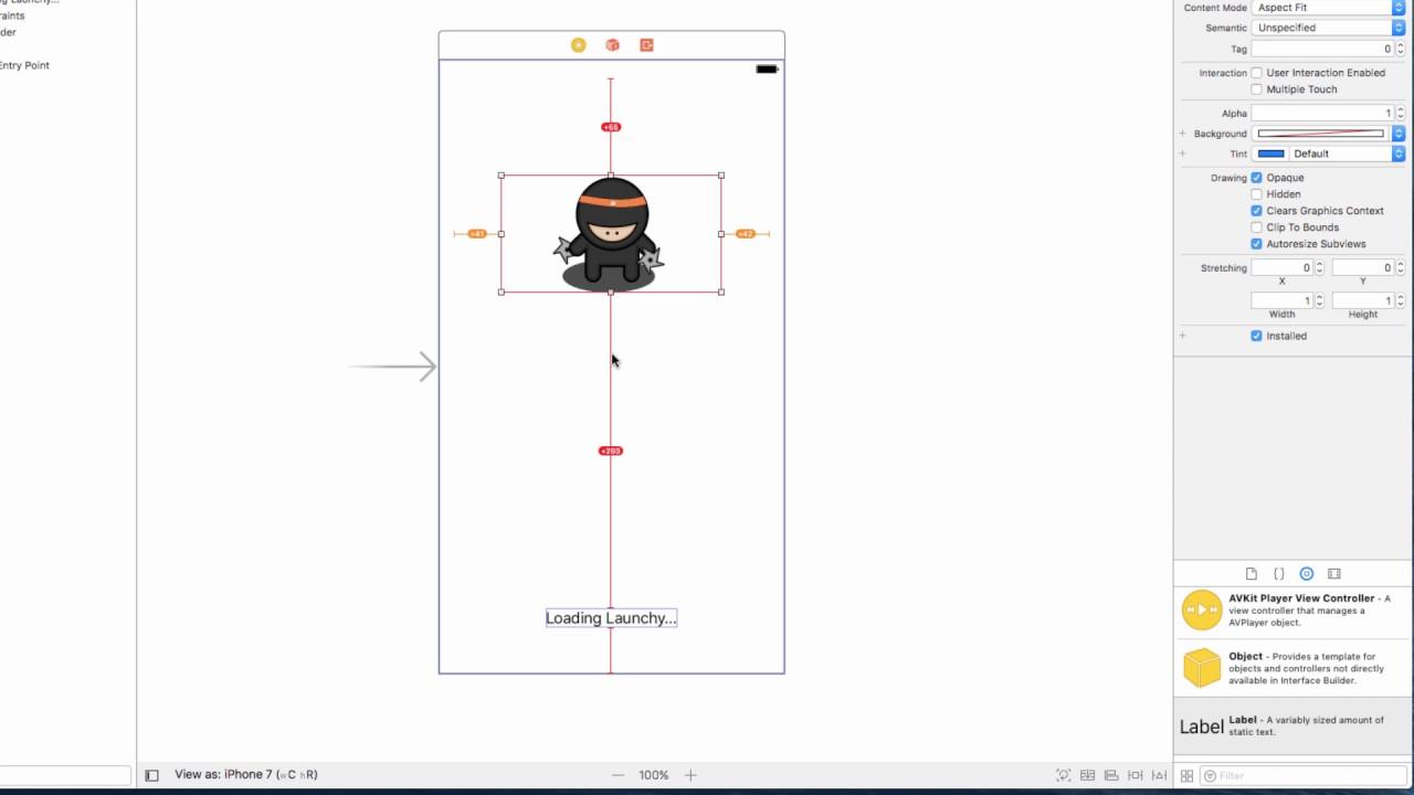 Swift Ninja Lesson 023 - Adding An Ios Launch Screen  Swift Ninja 10:44 HD