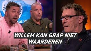 Willem van Hanegem bij VTBL: 'Zit ik weer tegenover die twee sukkels'