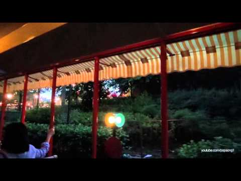Complete Walt Disney World Railroad (On-Board) POV at Sunset - Magic Kingdom