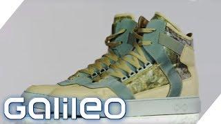 Diese Schuhe sind aus Steinen! Ist das bequem? | Galileo | ProSieben