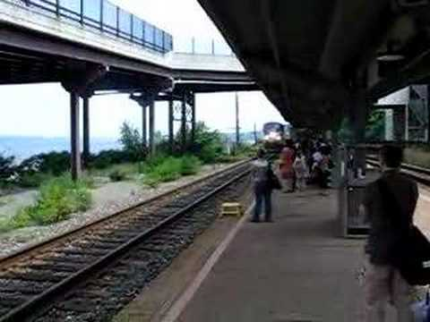 Thumbnail: Amtrak Pulls Into Rhinecliff