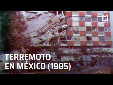 Así se vivió el terremoto de 1985 en México