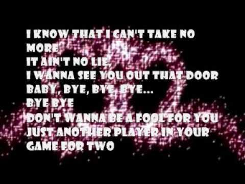 *NSYNC - Bye Bye Bye Lyrics | Musixmatch