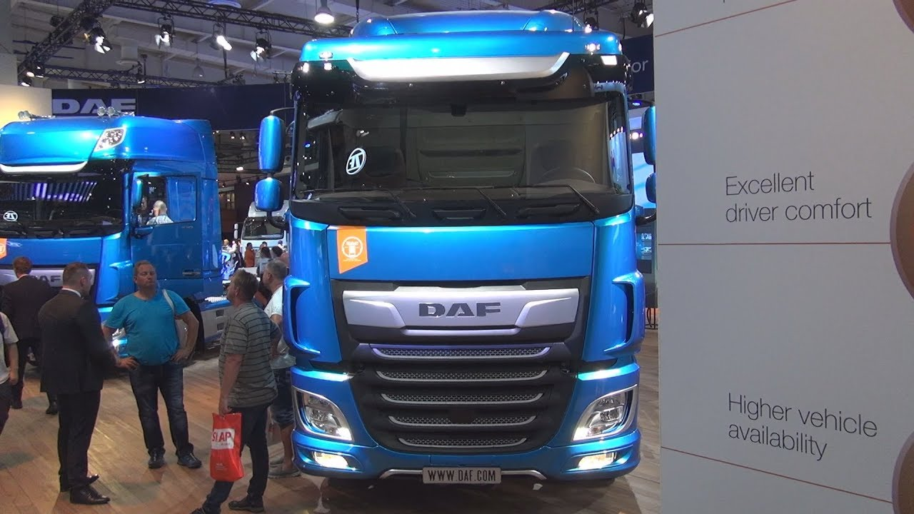 Daf Xf 480 Fan Sc 6x2 Chassis Truck 2019 Exterior And