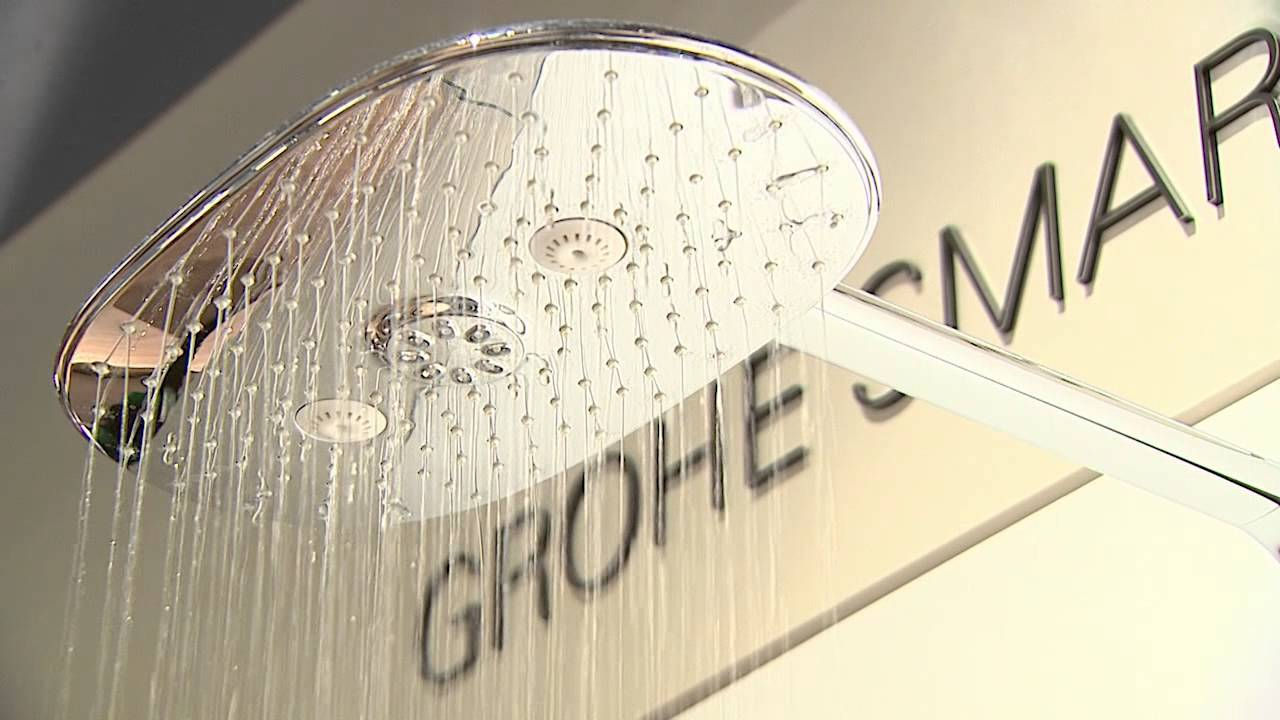 grohe rainshower duschsystem mit smart control youtube. Black Bedroom Furniture Sets. Home Design Ideas