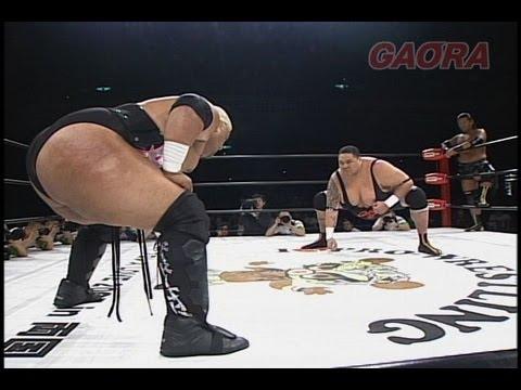 AKEBONO & OWASHI TORU vs SUMO RIKISHI & JONNY DAN