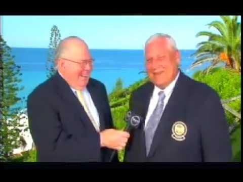 PGA of America President Allen Wronowski interview during 2012 PGA Grand Slam of Golf