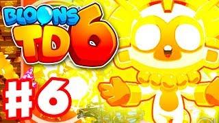 TRUE SUN GOD! Tier 5 Super Monkey! - Bloons TD 6 - Gameplay Walkthrough Part 6