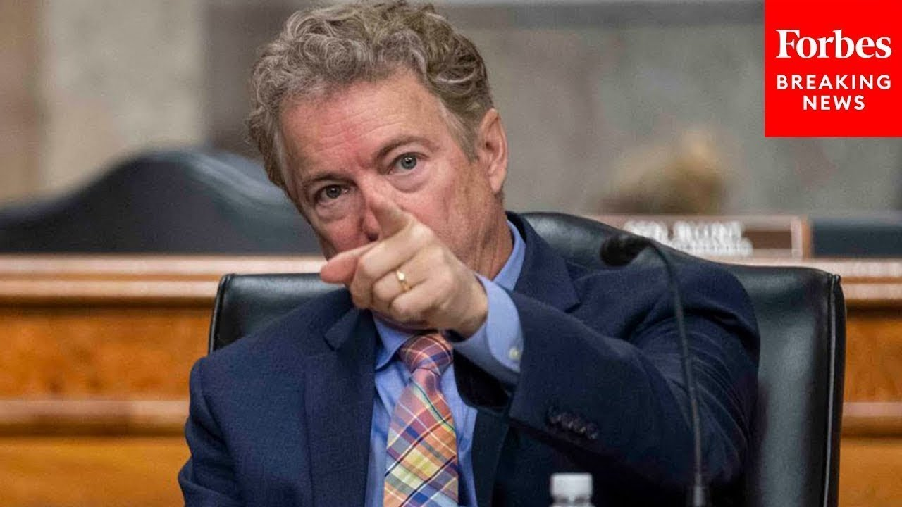 Rand Paul Speaks Out On Covid 19