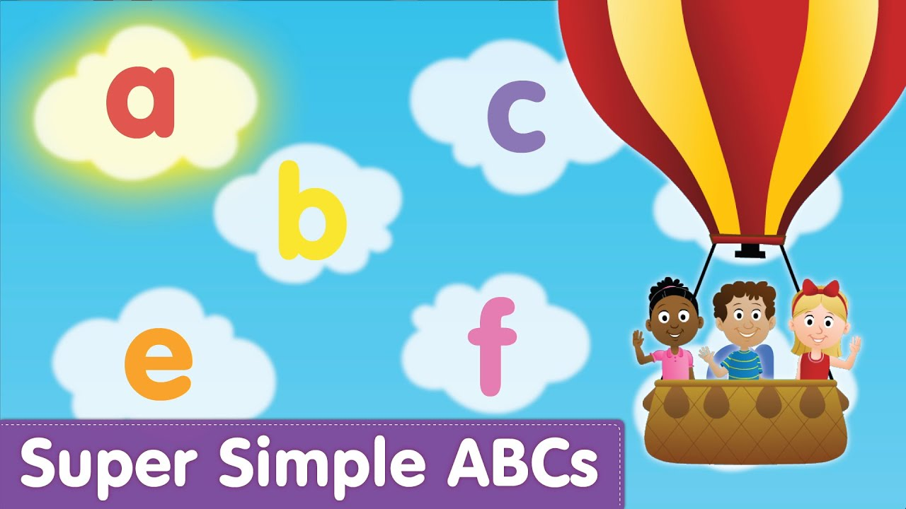 The Super Simple Alphabet Song Lowercase